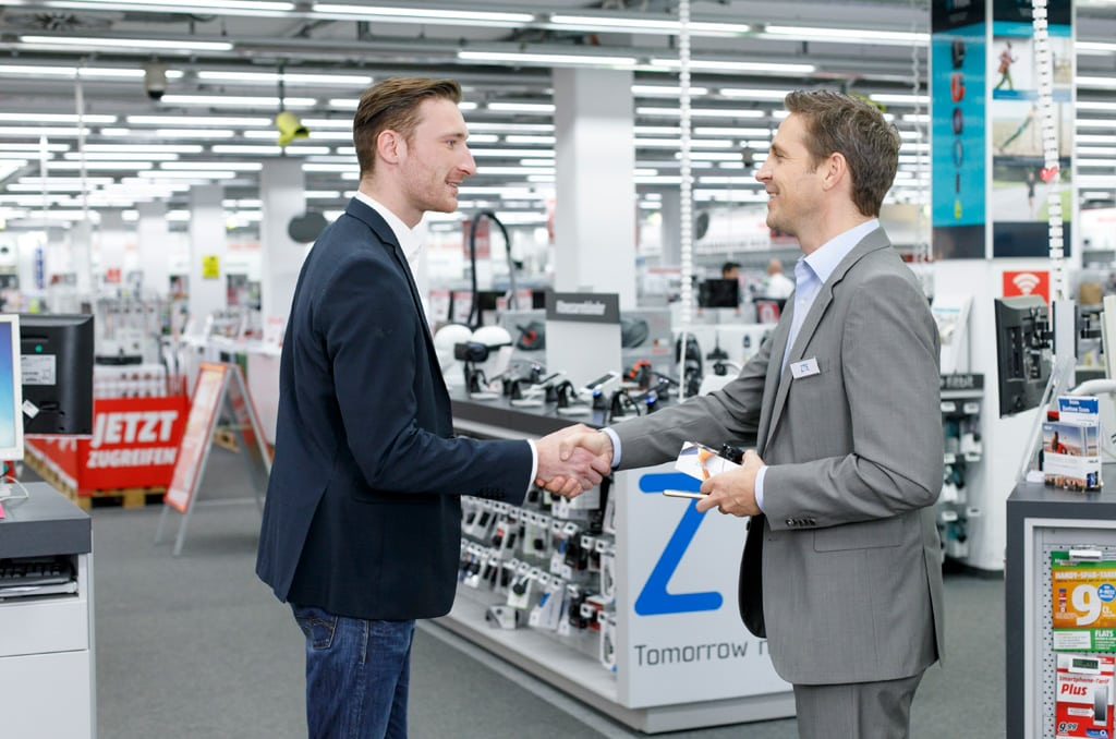 Consumer Sales, Retail Sales, Business Sales, Contracted und Temoporary Sales Force